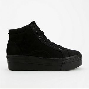 Vagabond | Holly Hightop Platform Sneakers